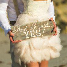 Cereri in casatorie inedite- in aer liber