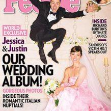 Poze exclusive de la nunta lui Justin Timberlake cu Jessica Biel